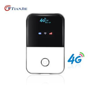 Tianjie Mini 3g 4g Lte Enrutador De Wi-fi Inalámbrico, Port
