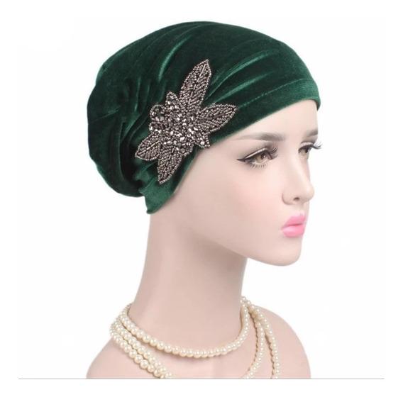 Turbante Oncológico Cáncer Accesorio Moda Gorra Elegante