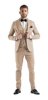 Chupin Con Chaleco Saco Zapatos Vestir Y Cinto Imported
