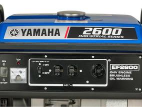 Generador Electrico Yamaha Uso Industrial Ef 2600fw