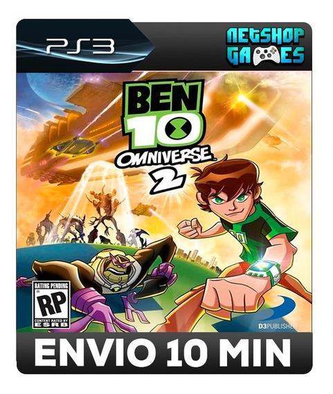Ben 10: Omniverse 2 - Psn Ps3 - Envio Imediato