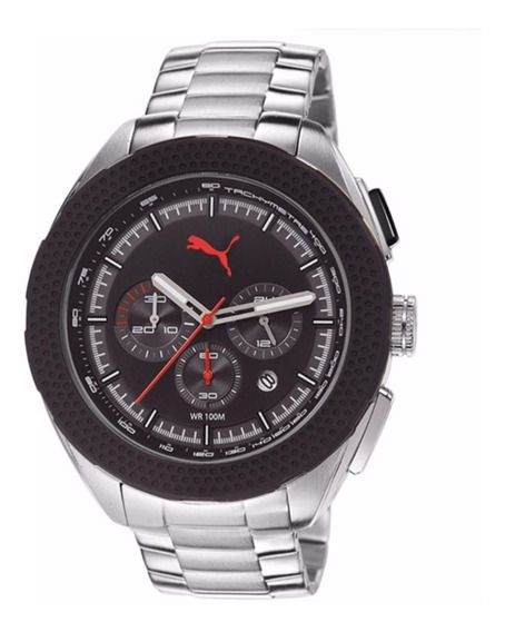 Relógio Masculino Puma Original Cronógrafo 96206g0pmna1