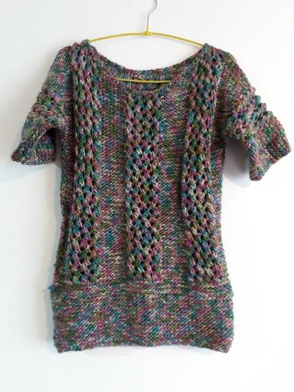 Crochetchile Sweater Tejido Matizado Talla M. Envío Gratis