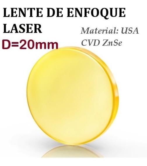 U.s.a Lente Máquina Laser D=20mm Corte Grabado Láser Co2 Cnc
