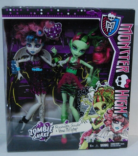Monster High Zombie Shake Venus Mcflytrap & Rochelle Goyle