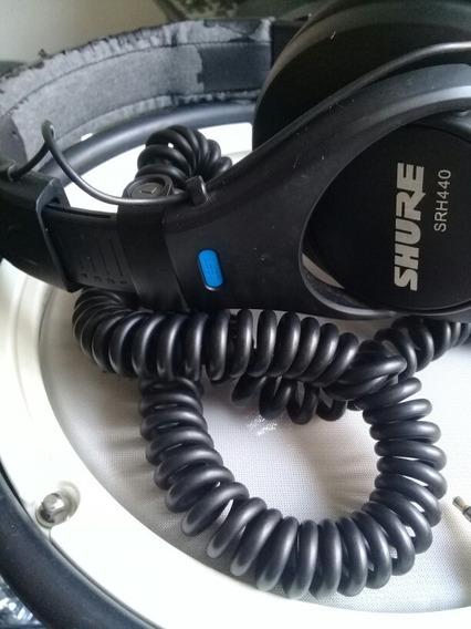 Fone De Ouvidos Profissional Shure Srh440