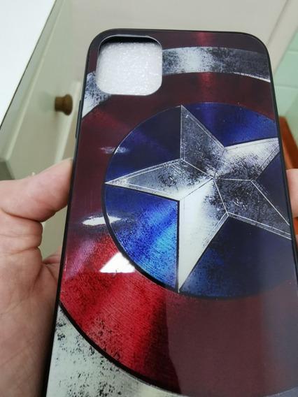 Case/capa iPhone 11 Capitão América