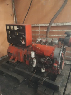 Generador Deutz 46kva 75hp Diésel, 4 Cilindros, 633 Horas