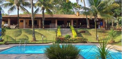 Linda Chácara Para Venda No Condominio Itambe Na Machado Santanna, Excelente Localização, 4 Dormitorios 2 Suites, Completa, Em 5.000 M2 - Ch00039 - 68375504