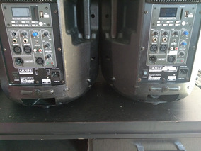 Caixas Ativa Bi-amplificada Staner B212 1ª Linha - O Par