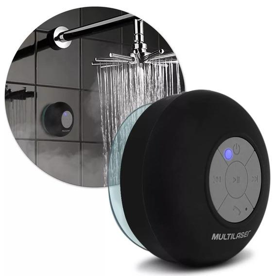 Caixa De Som Multilaser Sspeaker Bluetooth 8rms Prova D