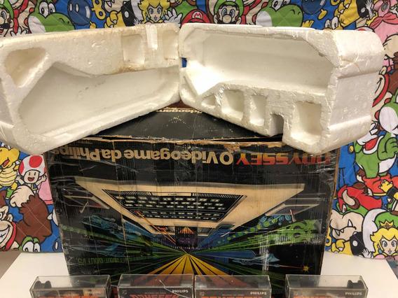 Odyssey Impecável Com Caixa E Lacre E Console Batendo Serial