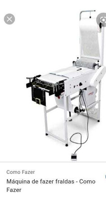 Máquina De Fazer Fraldas Nova Nunca Usada Na Caixa Ainda