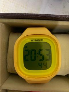 Relógio Silicone Res. À Água