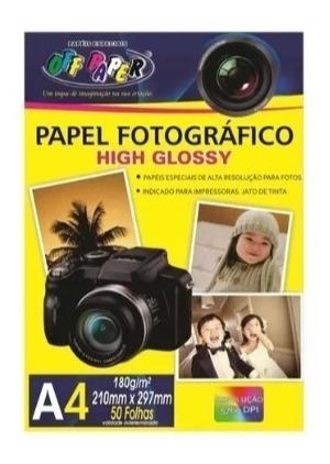 Papel Fotográfico 50 Folha