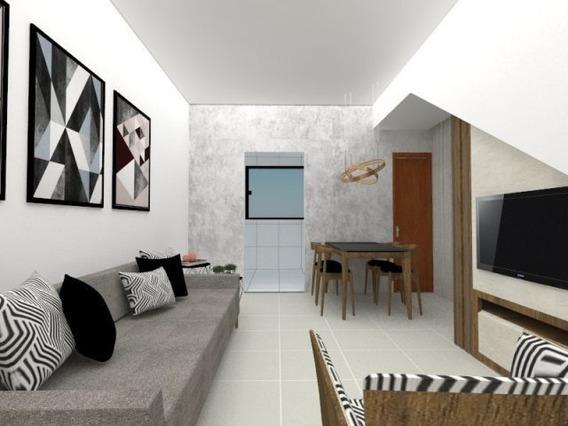 Casa Geminada Com 2 Quartos Para Comprar No Masterville Em Sarzedo/mg - 2137
