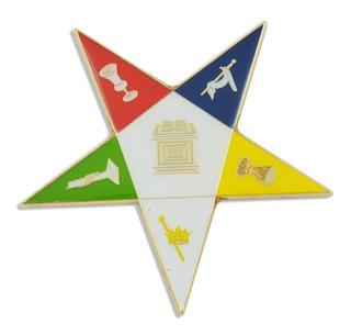 Order Of The Eastern Star Masonic Auto Emblem - 3 De A...