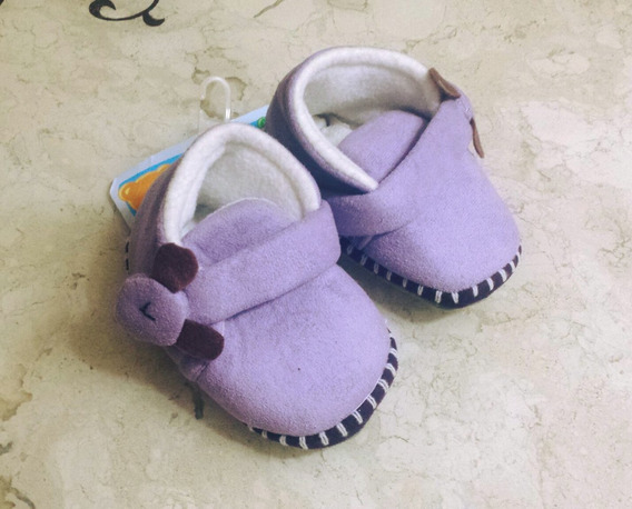 Sapato Pantufa Bebê Ursinho Puket 17 Ao 19 Linda Fofa Nova