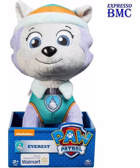 Everest De Pelúcia Tam G Original Patrulha Canina Paw Patrol
