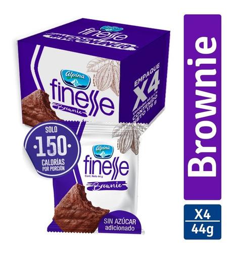 Imagen 1 de 2 de Brownie Finesse Alpina X4 - g a $17