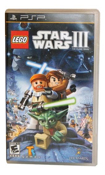 Lego Star Wars 3 Original Psp