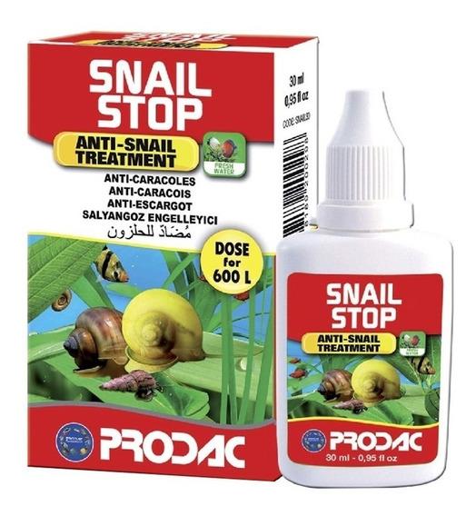 Suplemento Prodac Snail Stop 30ml Mata Caramujo Caracol