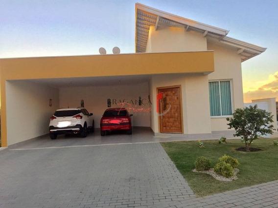 Ótima Casa À Venda No Cond. Portal Horizonte, 4 Dorm(2 Suítes), Piscina, Spa, 4 Vagas. - 1574