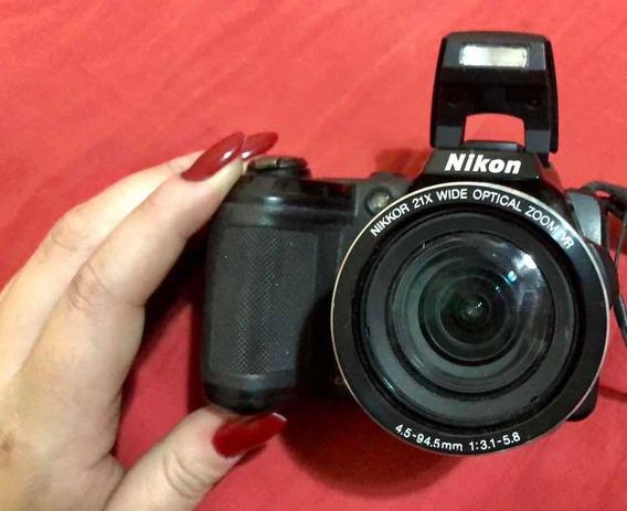 Câmera Semi Profissional Nikon Coolpix