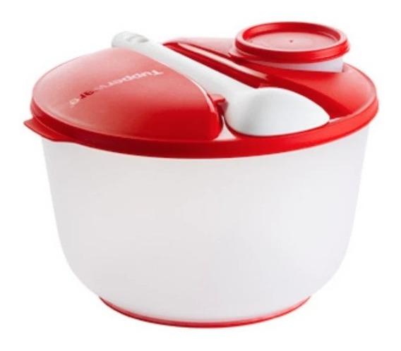 Bowl Ensaladera Jumbo + Cubiertos + Mini Bowl Tupperware 3,9