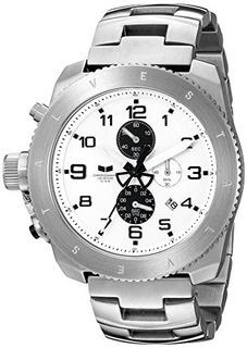 Reloj Vestal Restrictor De Acero Inoxidable Para Hombres