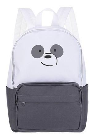 Mochila Ursos Sem Curso Panda Miniso