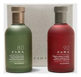 Kit Zara Edt 2x100ml (zara 8.0 + Zara 9.0)