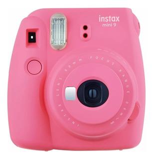 Cámara Fuji Instax Mini 9 Instantánea Fujifilm Rosado Flamin