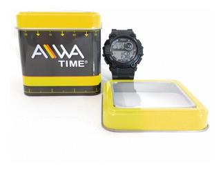 Reloj Deportivo Mujer Alarma Cronómetro Luz Sumergible 50mts
