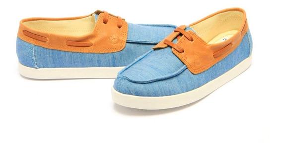 Mocassim Dockside Jeans Perky Shoes Confortável Promo 09