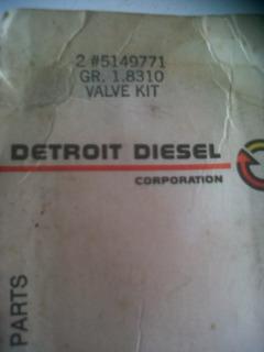 Kit De Valvulas De Camara Detroit Diesel Serie 92 5149771