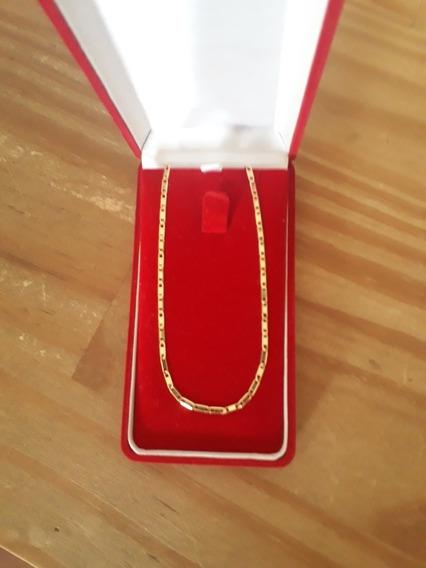Cordão Em Ouro 18k, 51 Cm, 5g