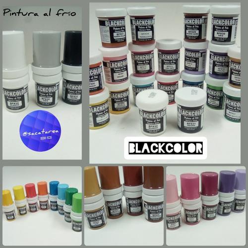 Pintura Al Frio 60ml - Blackcolor (tienda Fisica)