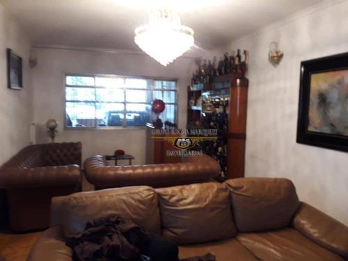 Sobrado Com 3 Dormitórios À Venda, 191 M² Por R$ 960.000,00 - Belém - São Paulo/sp - So1218
