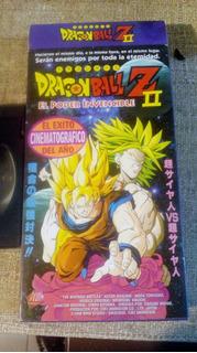 Vhs Dragon Ball Z Ii El Poder Invencible