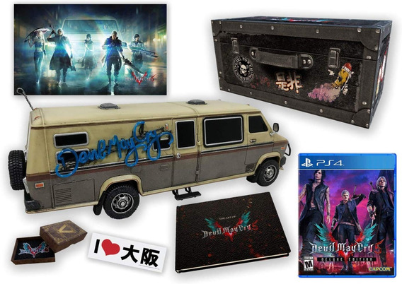 Devil May Cry 5: Collector Edition Ps4 *com Taxas Pagas*