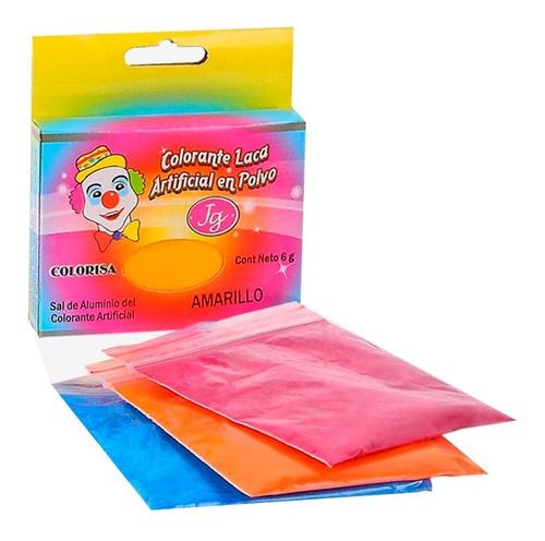 Colorante En Polvo Laca Para Chocolate Colorisa 6g