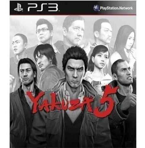 Yakuza 5 - Jogos Ps3