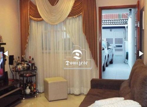 Sobrado Com 3 Dormitórios À Venda, 108 M² Por R$ 499.000,00 - Parque Jaçatuba - Santo André/sp - So2868