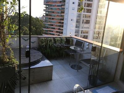 Flat Em Morumbi, Sao Paulo/sp De 62m² 1 Quartos À Venda Por R$ 583.000,00 - Fl99146