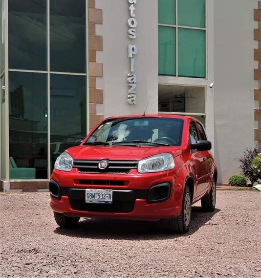 Fiat Uno Attractive 2017 Rojo Standar