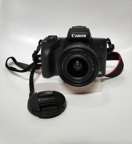 Câmera Mirrorless Canon M50 + Lente M15-45 + Bolsa Bônus