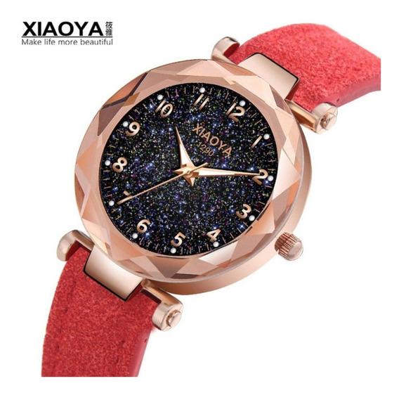 Relógio Feminino Xiaoya 1290 Céu Estrelado