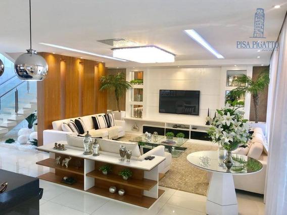 Casa À Venda Por R$ 2.400.000,00 - Residencial Villa Lobos - Paulínia/sp - Ca1739