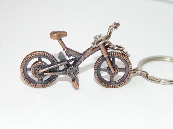 Llavero Bicicleta Ciclistas Se Mueve El Manubrio